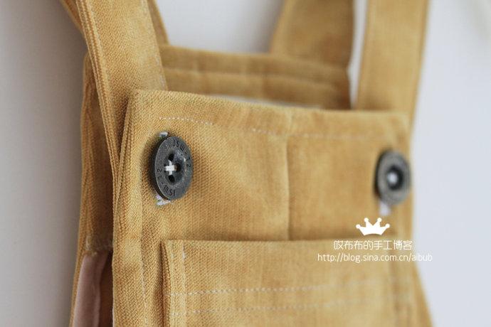 intro: 中性背带短裤 附制作过程 剪裁图