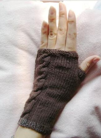 by 本周作品比赛投票:        1 步骤 intro 给大家介绍一款无指手套