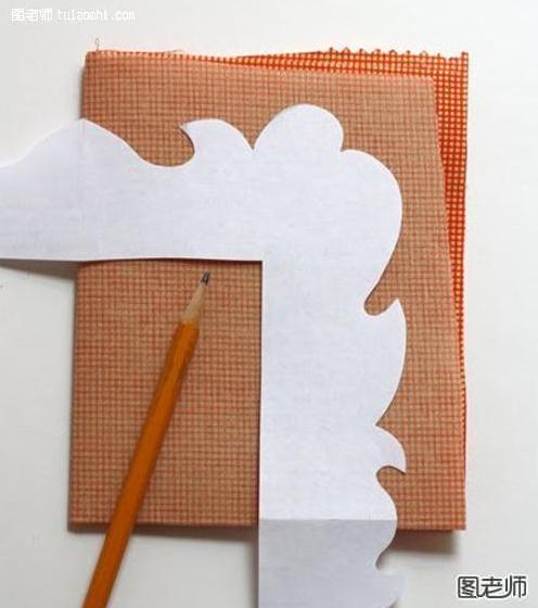 手工制作 布艺相框式背景墙
