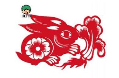 兔年剪纸大全兔子图案剪法