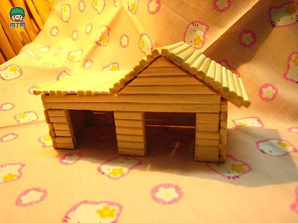 intro: 自制仓鼠窝-一次性筷子手工制作的小房子