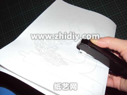 动手-3d立体剪纸雕纸艺装饰手工教程