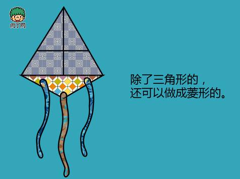 纸风筝的制作方法图解-by